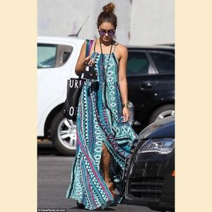 UO Some Days Lovin Tribal Maxi Dress